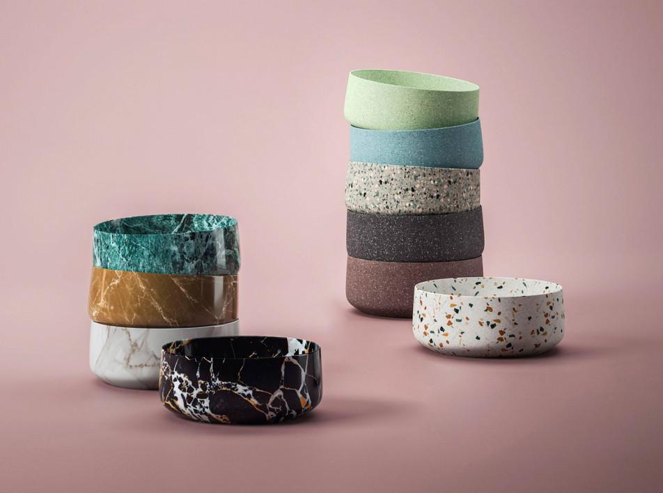 Artceram: цвет и фактура в ванной комнате
