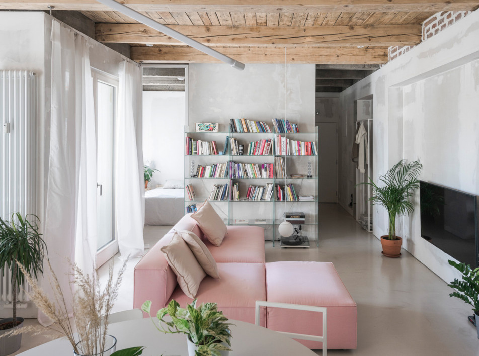 Kilo / Honč: открытая семейная квартира в Братиславе
