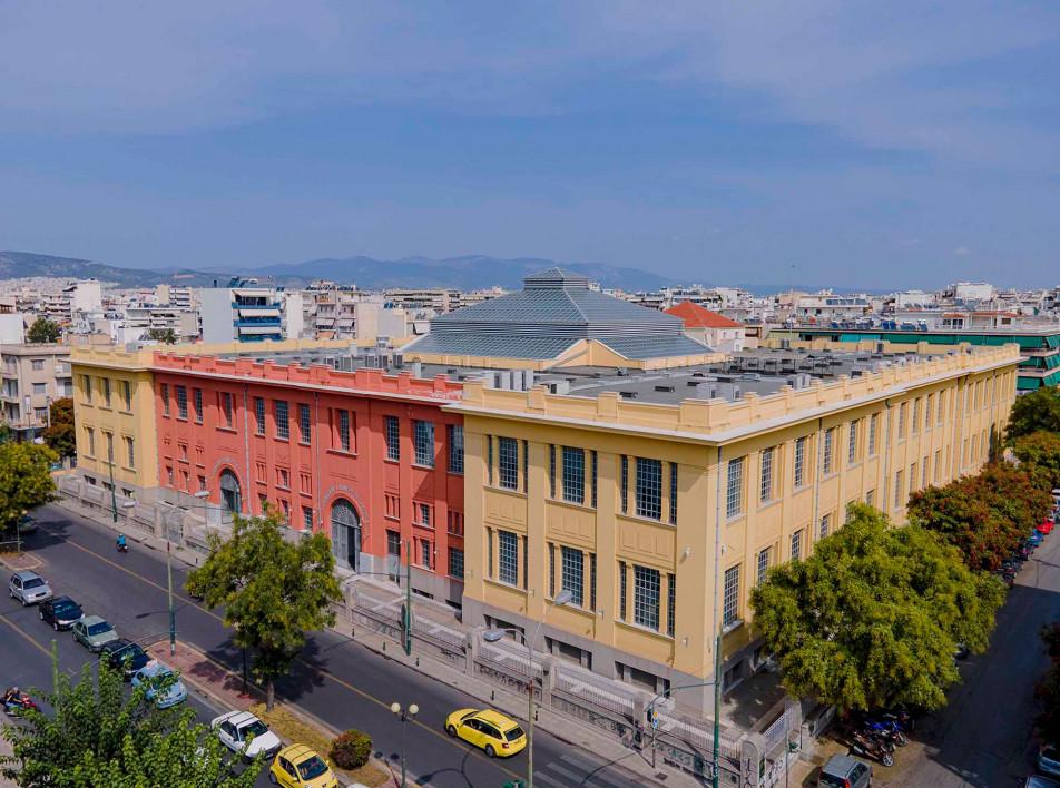 Арт-центр в Афинах на месте табачной фабрики
