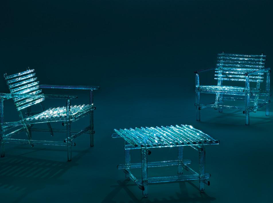 Milan Design Week 2021: прозрачная мебель Edra