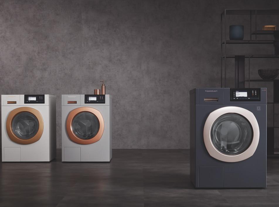 Küppersbusch: стиральные машины с оттенком розового золота и латуни