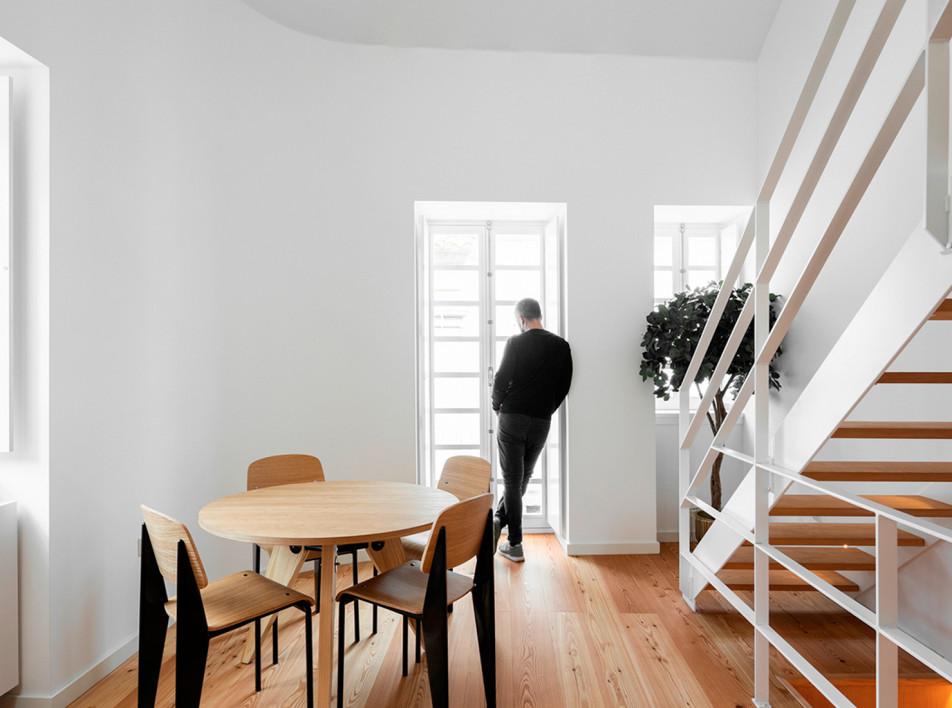 Paulo Martins Arquitectura: перепланировка португальского дома