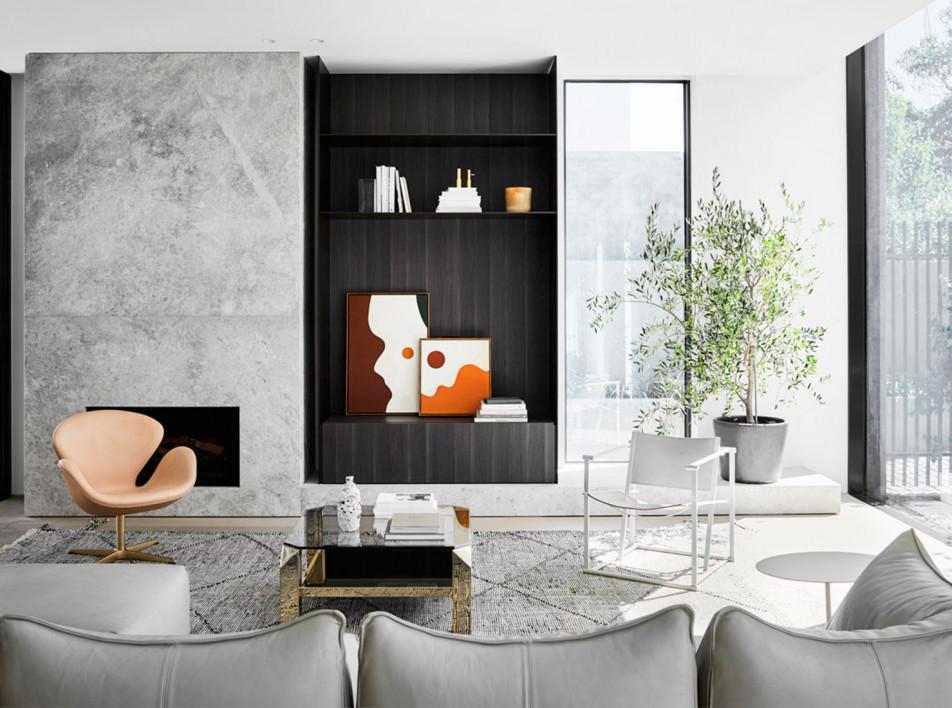 Mim Design: апартаменты в пригороде Мельбурна