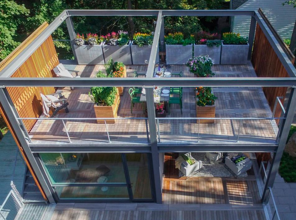 Flavin Architects: творческая пристройка к дому в Массачусетсе
