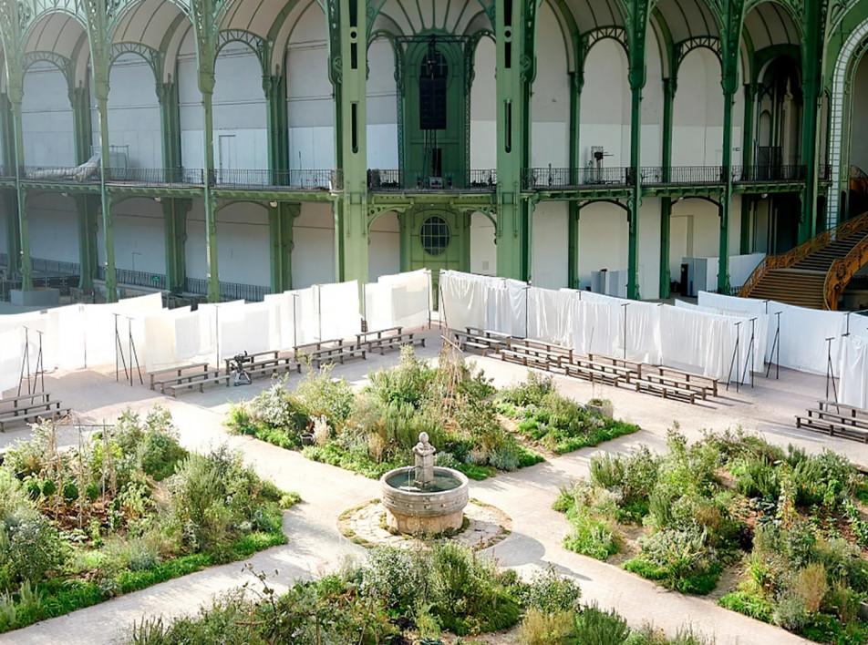 Сад из детства Коко Шанель в Гран-Пале