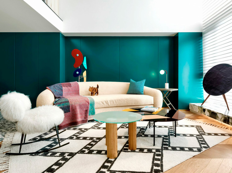 Квартира дизайнера в Чунцине