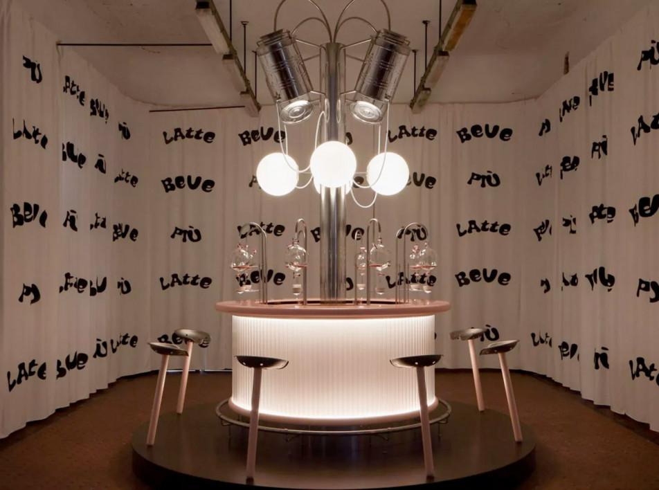 Milan Design Week 2021: молочный бар студентов HEAD и Индии Мадави