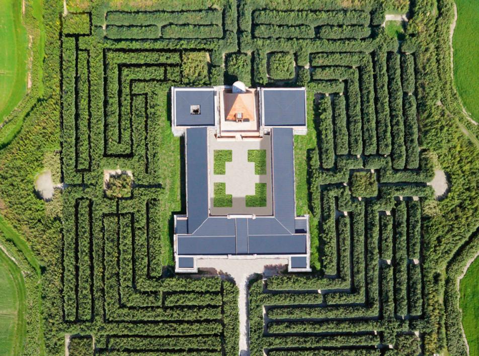 Labirinto della Masone: самый большой лабиринт в мире
