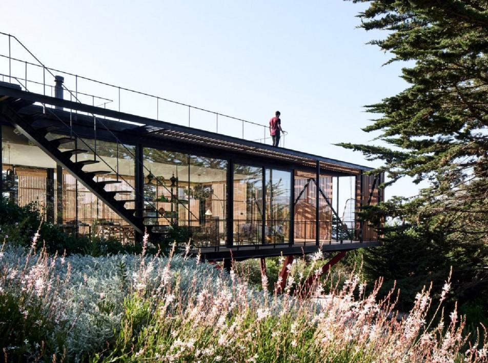 Engawa House: дом с решетчатой галереей в Чили