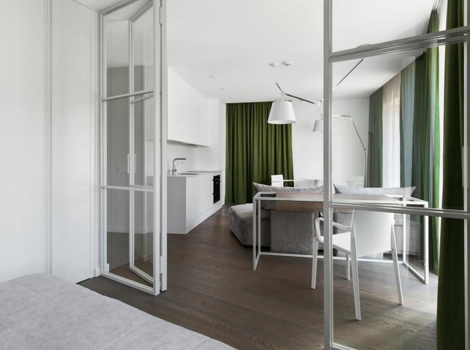 Студия IDAS: квартира 56 кв. метров в Вильнюсе