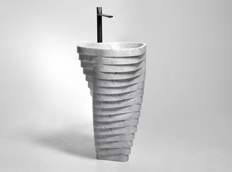 Паоло Улиан для Antoniolupi: раковина как арт-объект