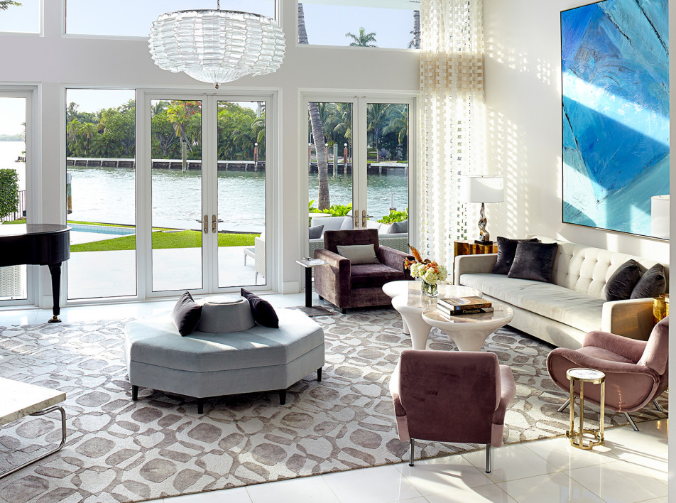 Реконструкция виллы в Майами-Бич