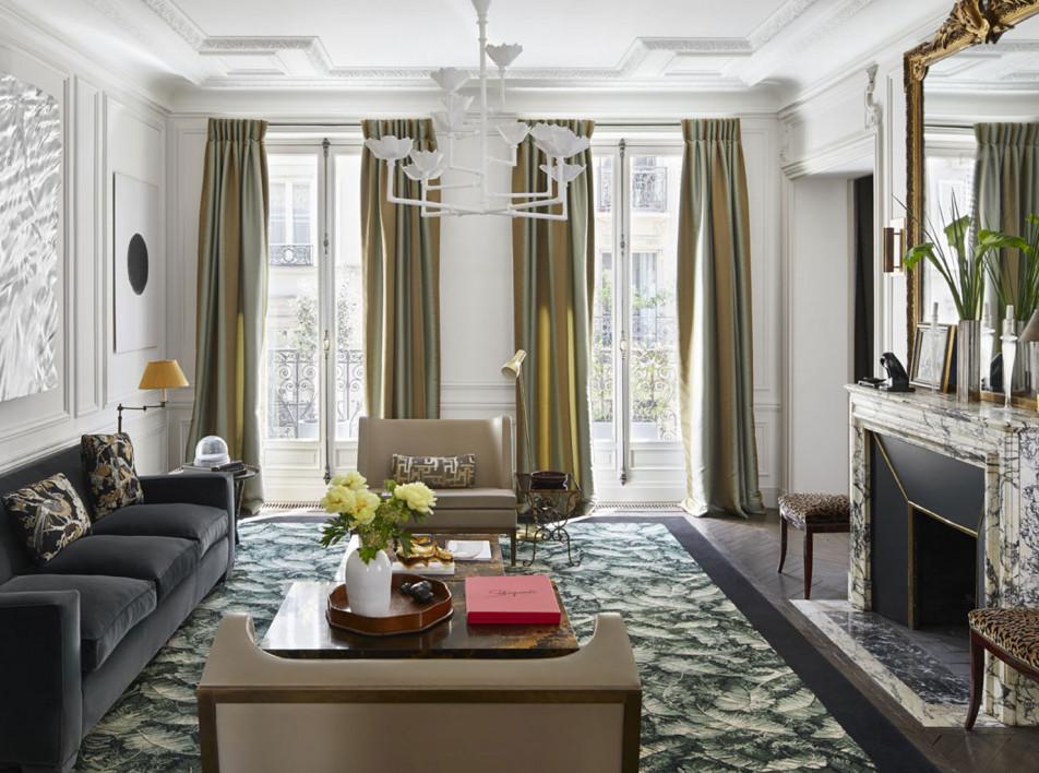 Парижская квартира по проекту Лорана Шампо и Келли Уайльд