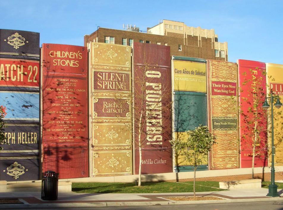 Самые необычные здания мира: библиотека в Канзасе