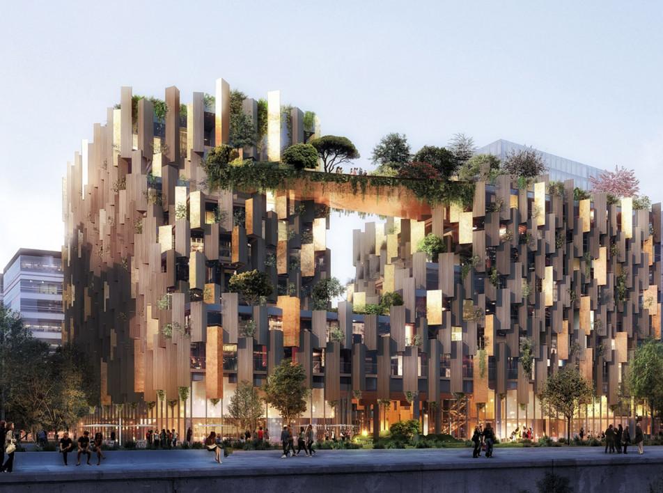 Кенго Кума построит эко-отель в Париже