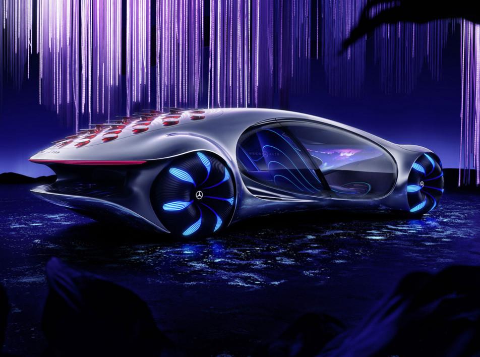 Mercedes-Benz : концепт-кар по мотивам фильма Avatar
