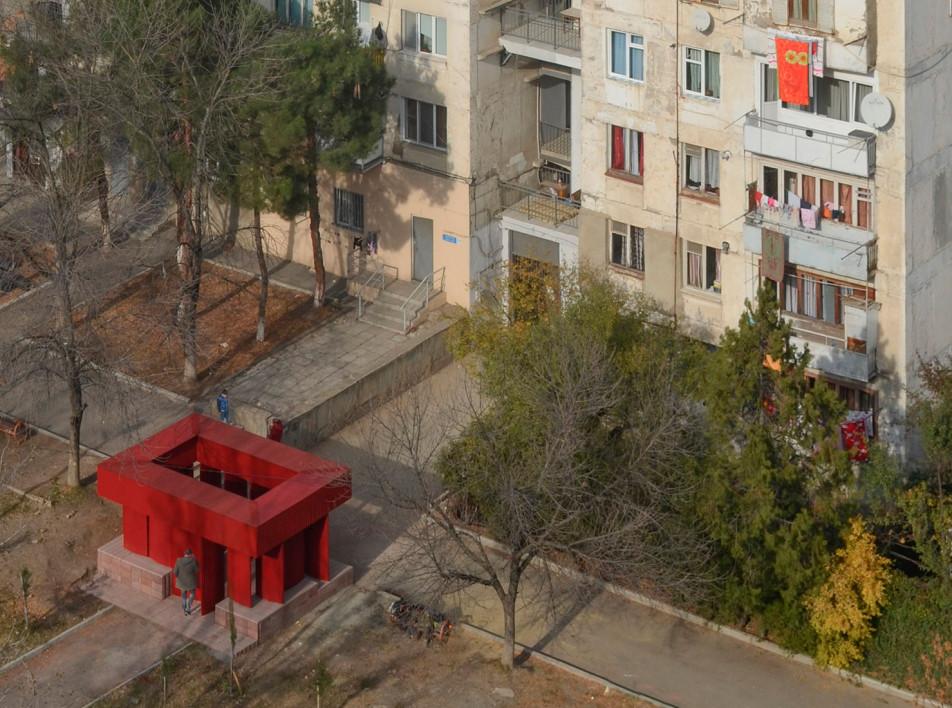 Кинетический павильон в Тбилиси