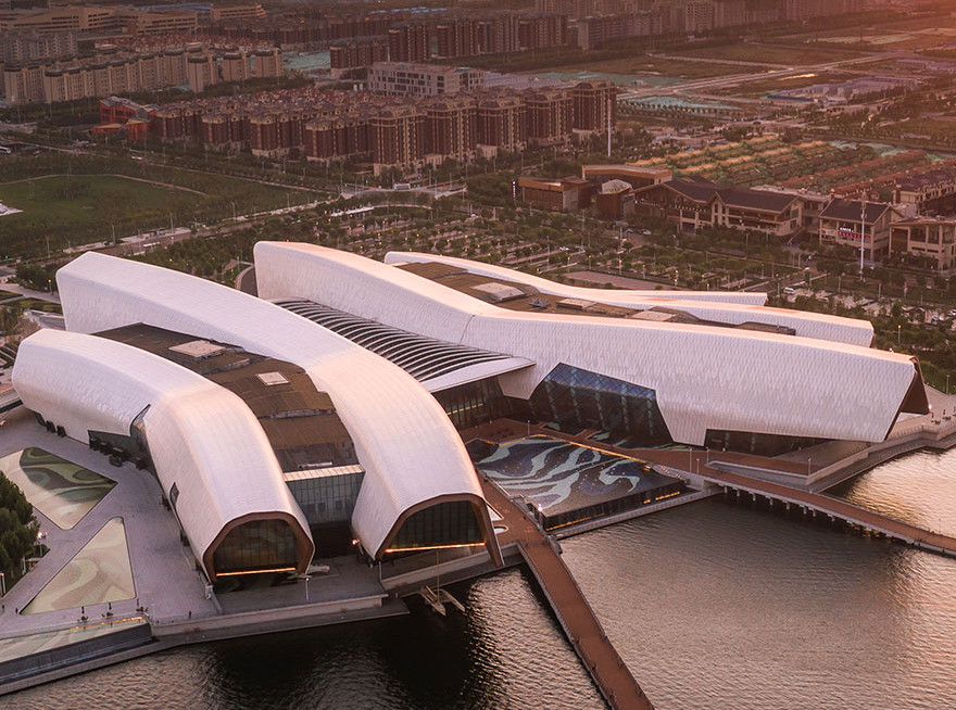Китайский морской музей по проекту COX Architecture