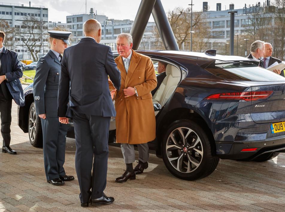 Принц Чарльз открыл Национальный центр автомобильных инноваций