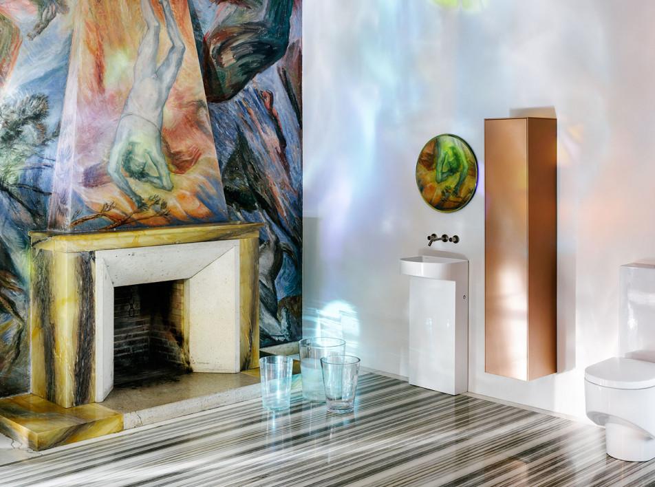 Патрисия Уркиола для ванных комнат: развитие эргономичной коллекции Laufen Sonar