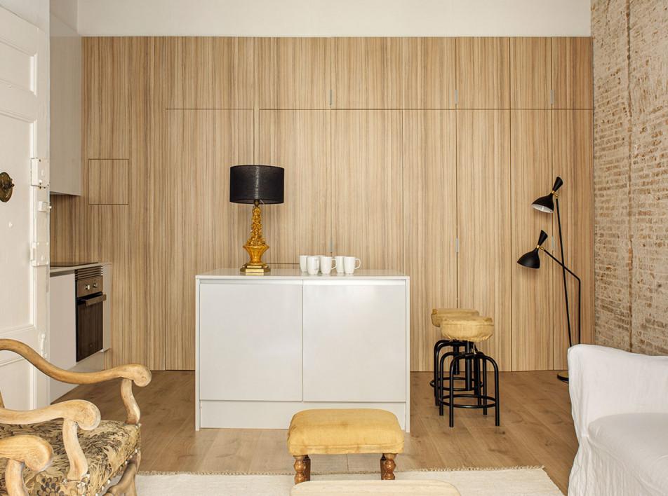 Abrils Studio: квартира 60 кв. метров в Барселоне