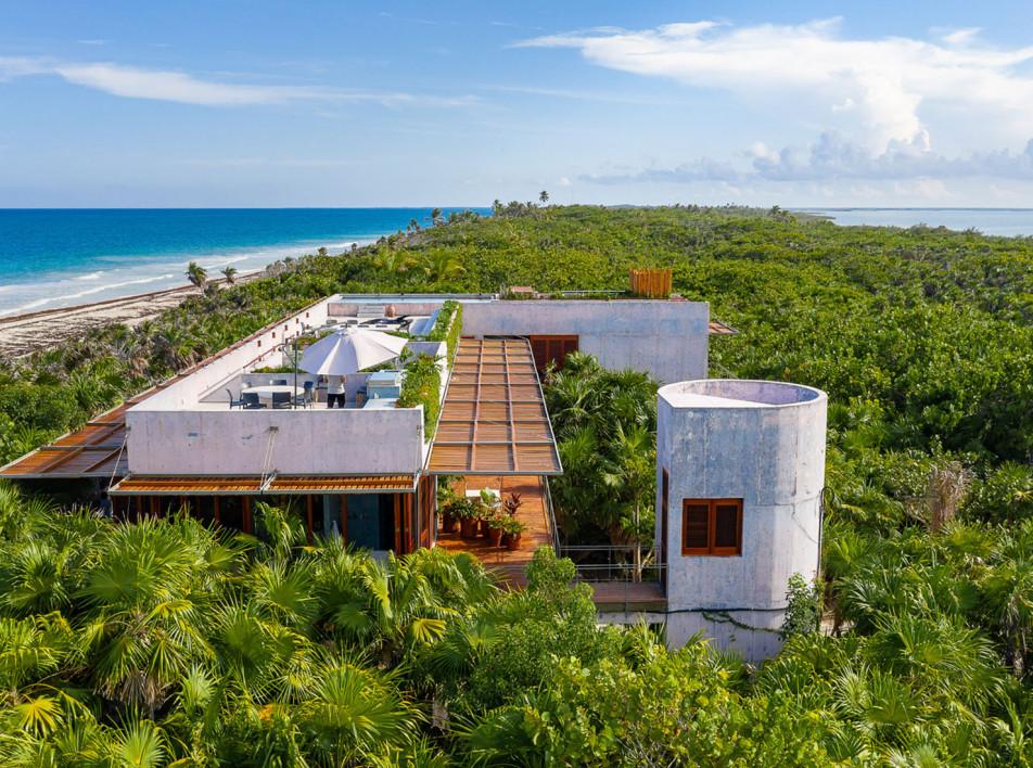 Дом на берегу Карибского моря по проекту Productora