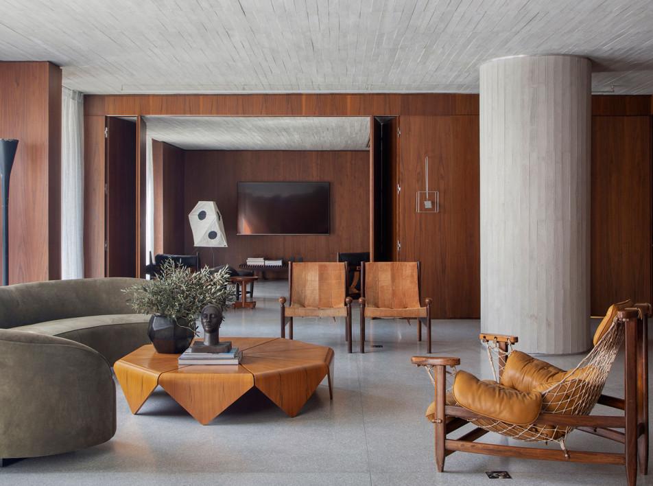 BC Arquitetos: галерейная квартира в Сан-Паулу