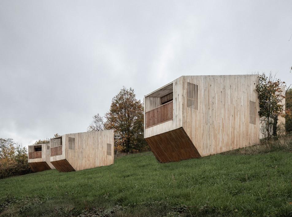 Экотуризм в Эльзасе. Проект Reiulf Ramstad Arkitekter и ASP Architecture