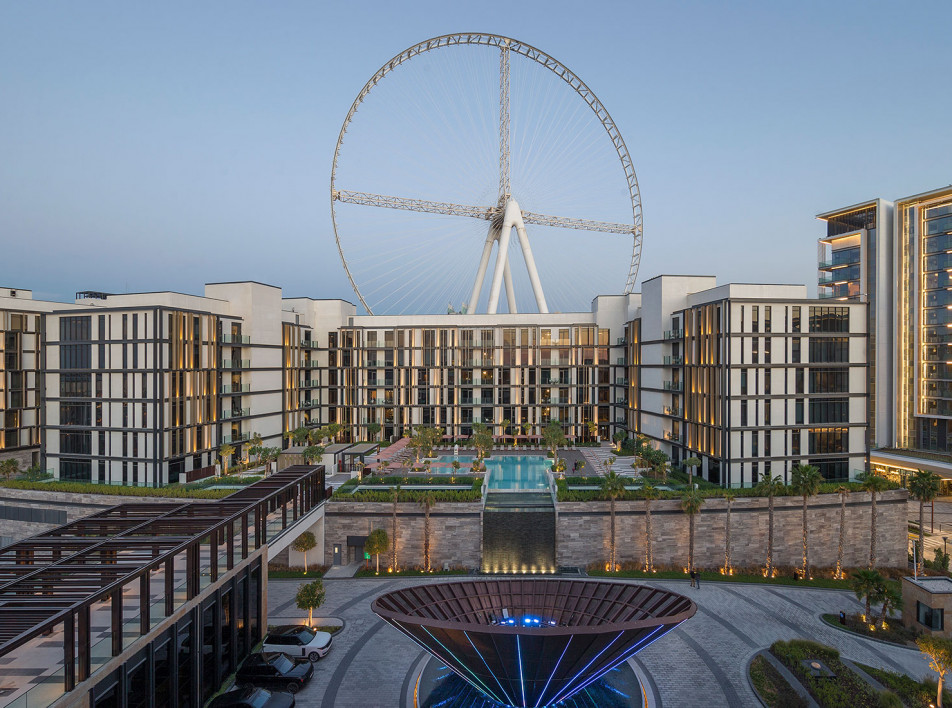 Caesars Palace Dubai: курортный остров