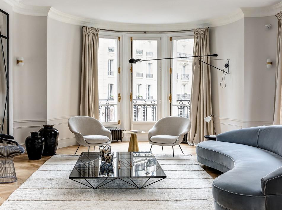 Caroline Andréoni: вневременной интерьер в Париже