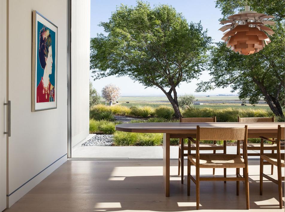 Дэвид Тульструп: арт-винодельня в Калифорнии