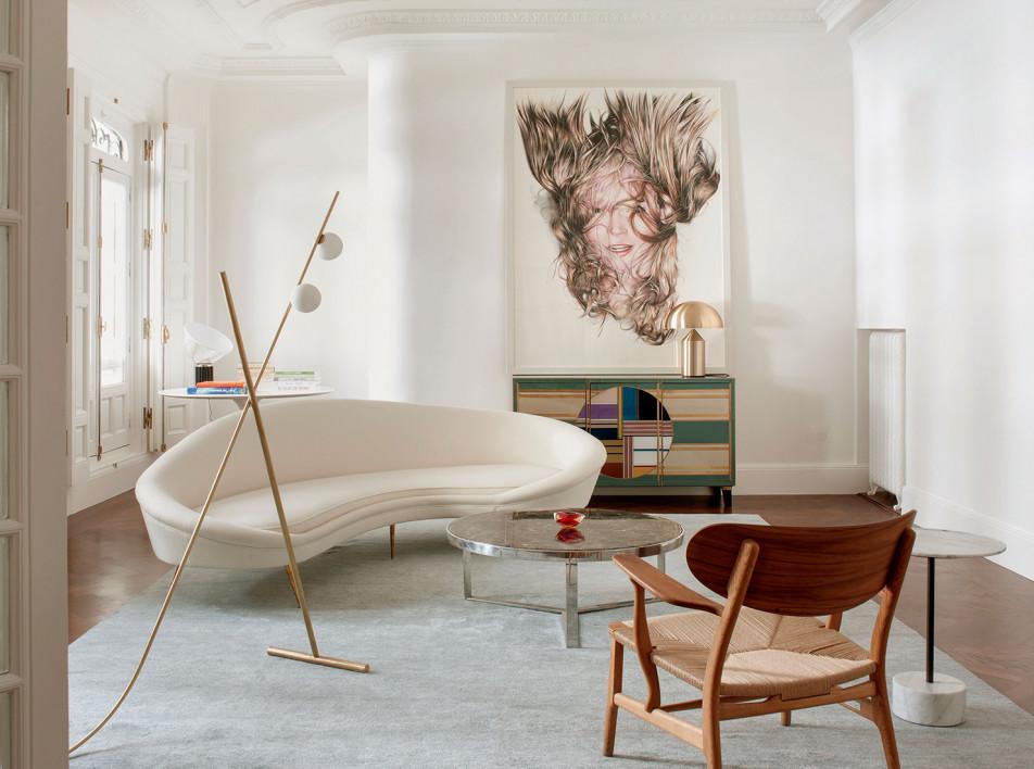 Квартира в Мадриде по проекту Estudio Morgan