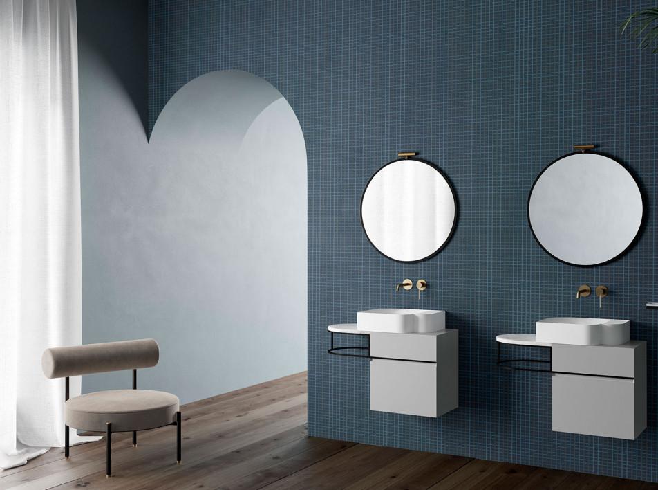 Marcante-Testa: обои для ванной комнаты в коллекции Ex.t