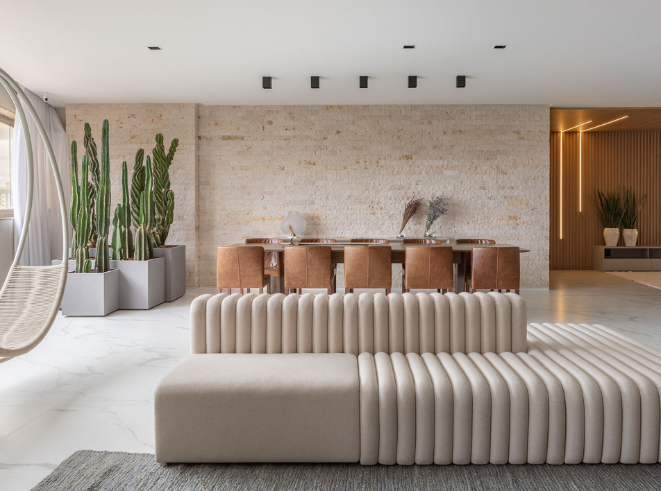 Апартаменты в Бразилиа  по проекту Studio2 Arquitetura e Interiores