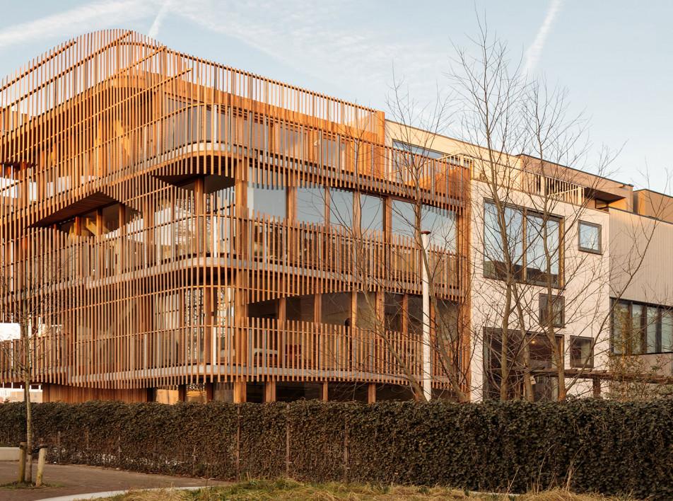 Дом по проекту GG-loop в Амстердаме