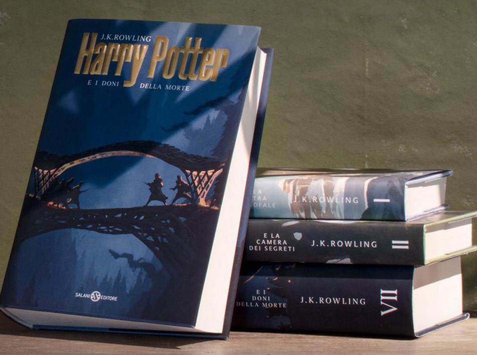 Микеле деЛукки создал обложки книг о Гарри Поттере
