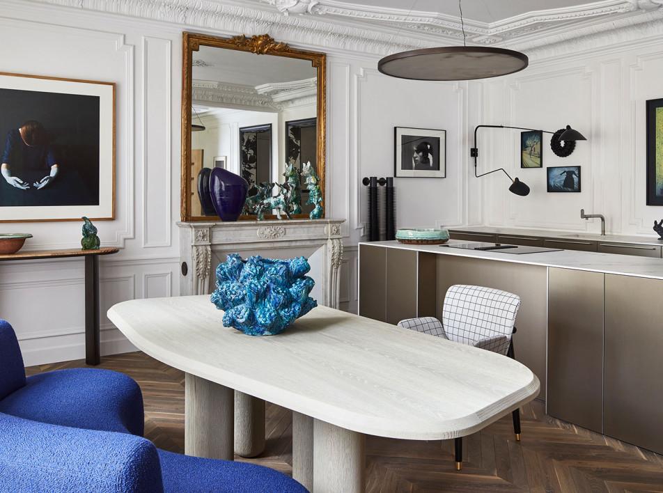 Клод Картье: квартира рядом с Бурбонским дворцом в Париже