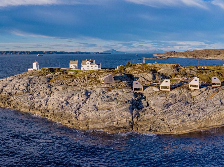 Holon Arkitektur: необычный отель на норвежском мысе