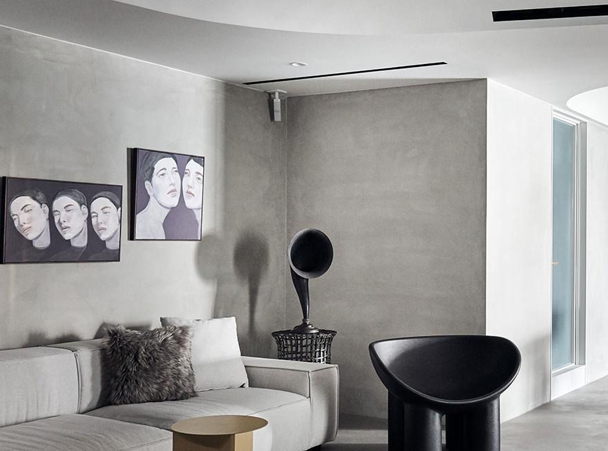KC design studio: 33 кв.метра в Тайбее