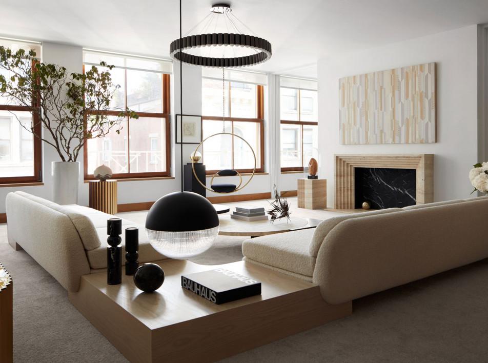 Дизайнер Ли Брум: свой пентхаус на Манхэттене