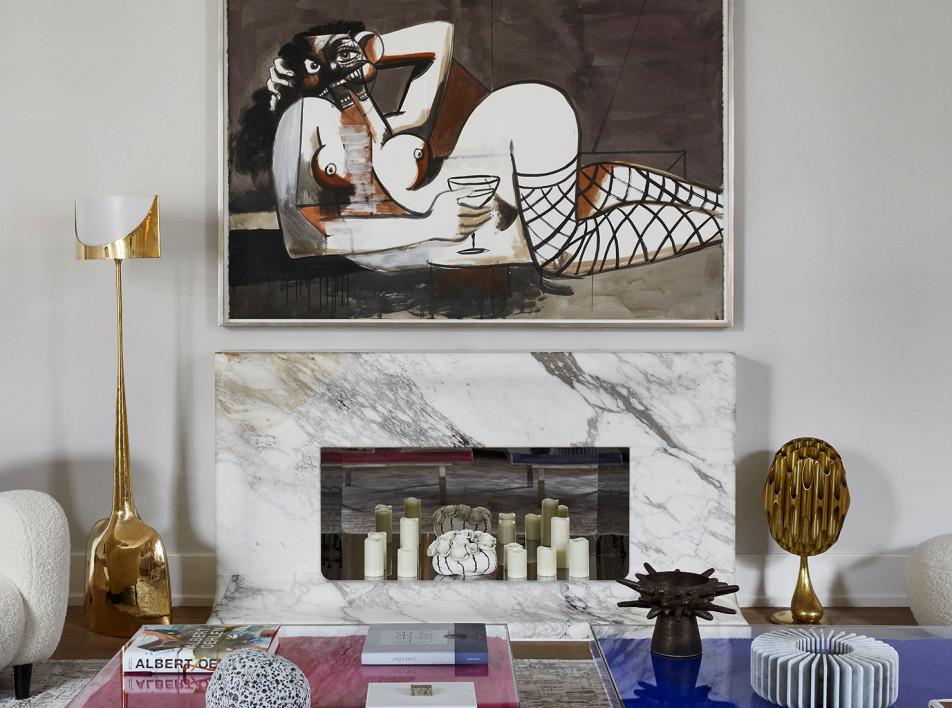 Стефани Кута: квартира для семьи коллекционеров в Париже