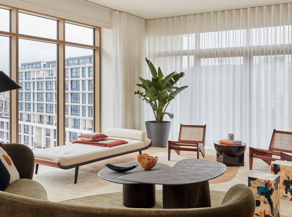 Conran & Partners: пентхаус в жилом комплексе на Кингс-Кросс