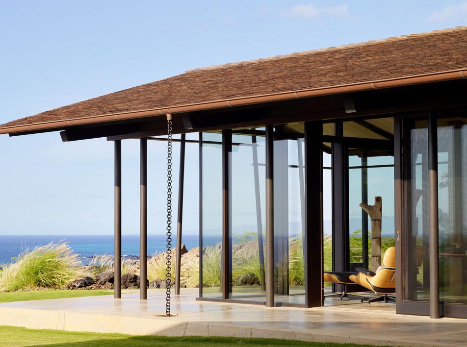 Walker Warner Architects:  дом для отдыха на Гавайях