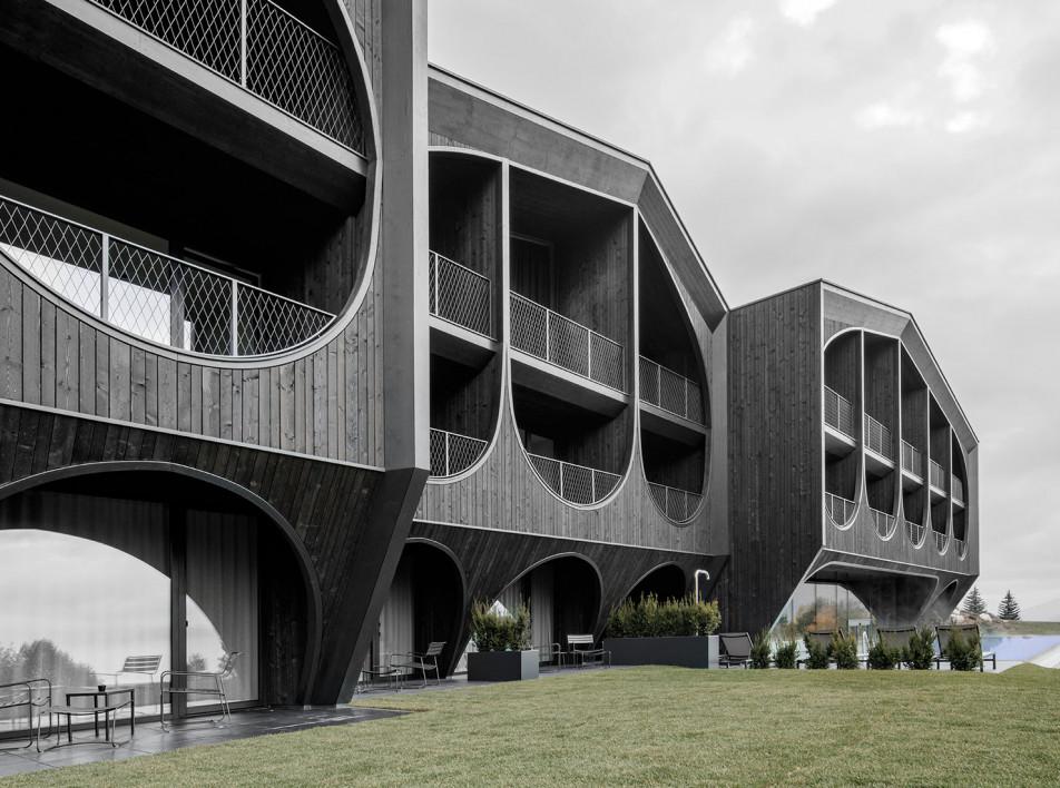 Отель в Маранце во проекту Peter Pichler Architecture