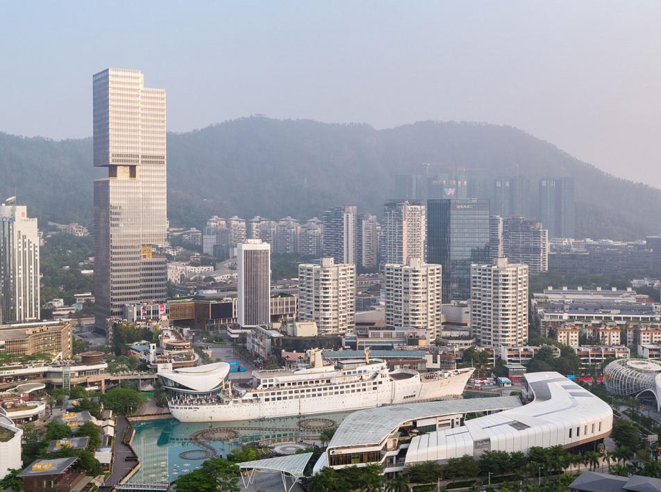 Небоскреб Plaza Prince в Шэньчжэне по проекту OMA