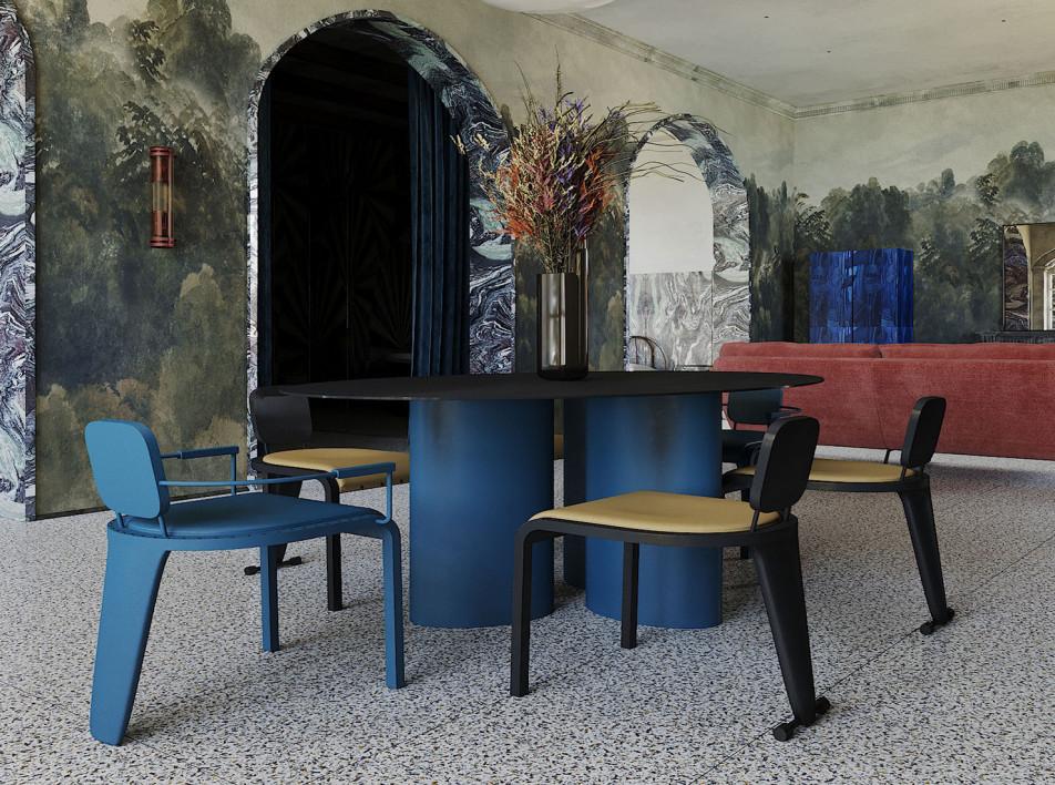 Квартира в Милане: концептцальный проект мадридской студии Puntofilipino