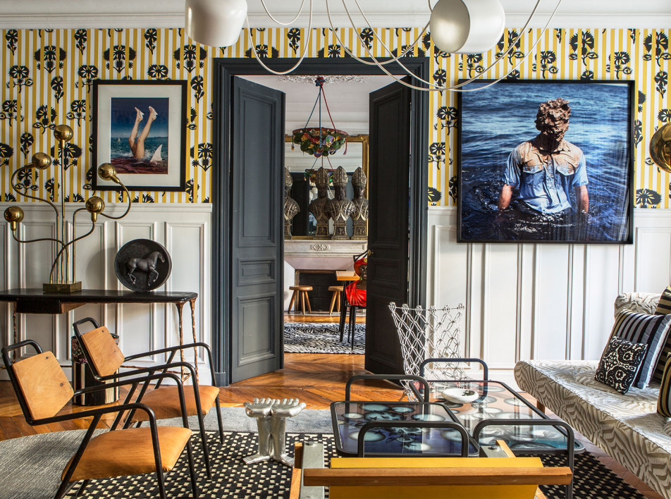 Саша Валкхоф обновил свою квартиру в Париже