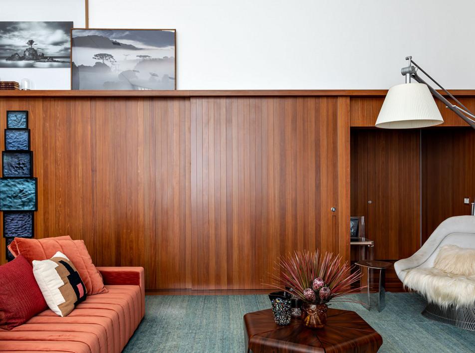 Диего Револо: квартира с оригинальной отделкой в Сан-Паулу