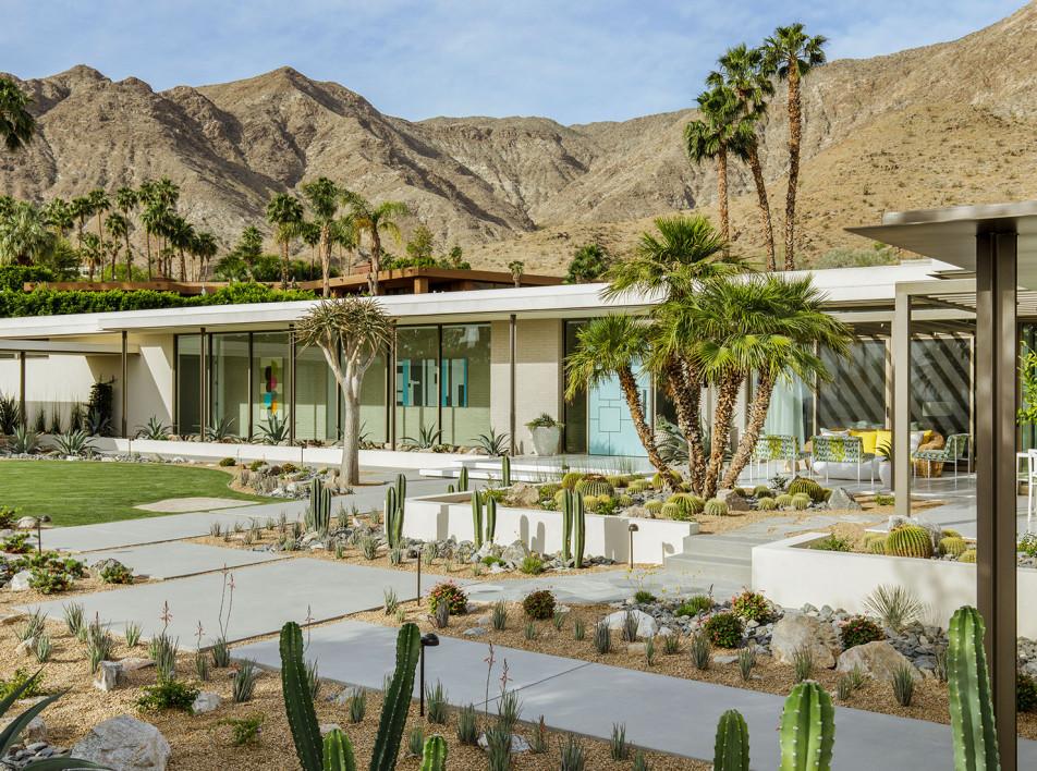 Stuart Silk Architects: обновление виллы на плато Коачелла