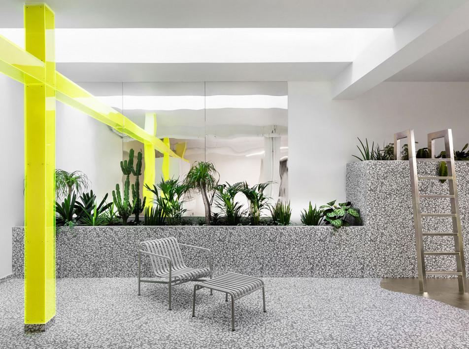 Необычный лофт в Париже по проекту Ubalt Architectes